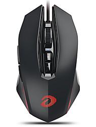levne -dareu em925pro drátové usb optická herní myš vícebarevná podsvícená 600/1200/2400/3600/5400/7200/10800 dpi 7 nastavitelná úroveň rozlišení 7 ks klíče