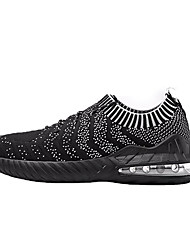 Недорогие -Муж. Комфортная обувь Tissage Volant Весна На каждый день Спортивная обувь Для прогулок Дышащий Белый / Черный / Черный / Красный