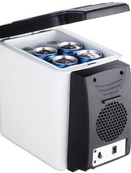 Недорогие -6 л автомобильный холодильник низкое энергопотребление низкий уровень шума высокая скорость охлаждения портативный холодильник