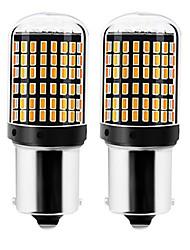 Недорогие -2pcs 1156 / 7440 Автомобиль Лампы 22 W SMD 3014 144 Светодиодная лампа Лампа поворотного сигнала / Фонари заднего хода (резервные) Назначение Универсальный Все года