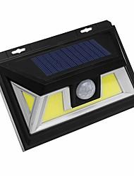billige -1pc 10 W Solar Wall Light Solar Kold hvid 3.7 V Udendørsbelysning / Gårdsplads / Have 72 LED Perler
