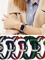 Недорогие -Ремешок для часов для Apple Watch Series 4/3/2/1 Apple Спортивный ремешок Материал / Нейлон Повязка на запястье