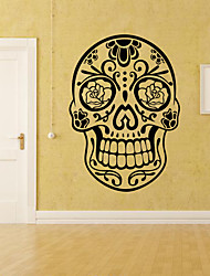 Недорогие -конфеты рокабилли татуировки таро стикер стены декоративные хэллоуин арт обои