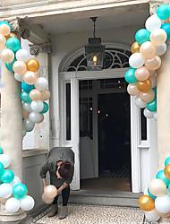 Недорогие -Воздушный шар пластик Свадебные украшения Рождество / Праздник совершеннолетия Цепочка / Арочный Все сезоны