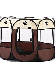 Dogs Cats Bed Pet Liners Polka Dot Portable Camping & Hiking Tent
