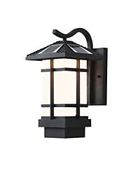 billige -QINGMING® 1pc 3 W Solar Wall Light Vanntett / Solar / Lysstyring Varm hvit + hvit 3.7 V Utendørsbelysning / Courtyard / Have 1 LED perler