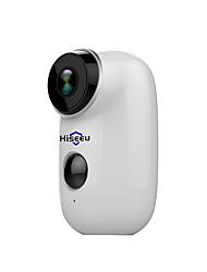 Недорогие -hiseeu hiseeu 100% беспроводная аккумуляторная батарея cctv wifi ip-камера наружная ip65 защищенная от непогоды домашняя камера безопасности сигнализация движения pir 15 мп ip-камера внутренняя