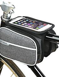 Недорогие -B-SOUL Сотовый телефон сумка Бардачок на раму 6.2 дюймовый Сенсорный экран Компактность Велоспорт для Samsung Galaxy S6 Samsung Galaxy S6 edge LG G3 Черный Темно-серый / iPhone XS Max / iPhone XS