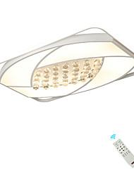 Недорогие -светодиодные хрустальные потолочные светильники / прямоугольный скрытого монтажа современный рассеянный свет творческий для гостиной спальня лампы 110-120 В / 220-240