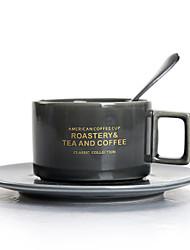 levne -anglický odpoledne šálek kost porcelán evropský malý šálek s miskou lžíce sada domácí kočka káva keramický set