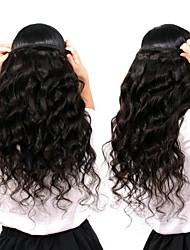 저렴한 -번들 6 개 말레시아인 헤어 루즈 웨이브 레미 헤어 인간의 머리 직조 번들 헤어 한 팩 솔루션 8-28inch 자연 색상 인간의 머리 되죠 신생아 워터팔 큐트 인간의 머리카락 확장 여성용 / 처리되지 않은