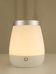 billige -1pc Smart Night Light / Book Light RGB + Varm Usb Vandtæt / Kreativ / Genopladelig <=36 V