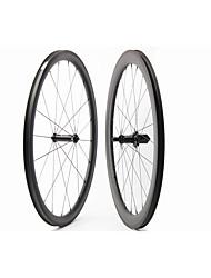 Недорогие -FARSPORTS 700CC Колесные пары Велоспорт 23 mm Шоссейный велосипед Поликарбонат / Углеродное волокно Подходит для клинчерной покрышки / бескамерной шины 20/24 Спицы 50 mm / 30 mm