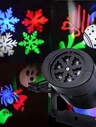 Недорогие -1 компл. Светодиодные сценические огни рождественские проекционные огни праздник света вечеринка открытый сад дом квартира детская комната ночной свет ночные украшения 2 карты