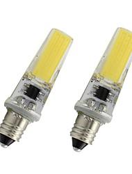 お買い得  -2ピース3ワットe11 led電球110ボルト220ボルト450 lm穂軸調光ランプ白暖かい白用ホーム照明シャンデリアクリスタルランプ