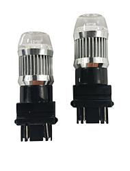 Недорогие -Экстремальное охлаждение стильный 30 Вт 1800lm автомобиль 3157 светодиодные лампы drl белого цвета лампы drl автомобиль 3157 светодиодные лампы