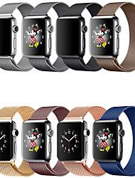 Недорогие -SmartWatch Band для Apple Watch серии 4/3/2/1 яблоко милан петля браслет из нержавеющей стали ремешок