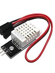Недорогие -Diy DTH22 цифровой температурный датчик влажности модуль AM2302 + печатная плата с кабелем