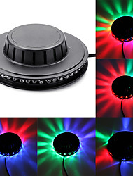 cheap -1 set LED Stage Lights Small Flying Saucer Marquee  48 Bead Lights Small Sun Lights  Christmas Lights