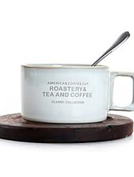 levne -anglicky odpoledne šálek čaj porcelán evropský malý šálek kávy dřevěná lžíce lžíce sada domácí kočka kávový keramický set