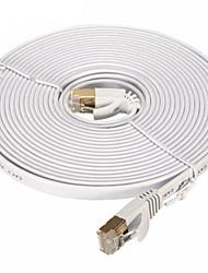 Недорогие -сетевой кабель cat7 сетевой кабель плоский кабель патч-корд 20м