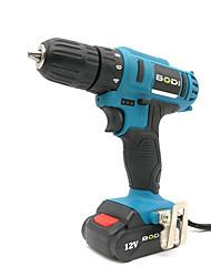 Недорогие -Боди зарядки ручная электрическая дрель бытовой многофункциональный электрический винт инструмент электрическая партия 12 В двойной скорости импульсная электрическая дрель