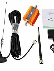 Недорогие -жк 2 г / 3 г / 4 г GSM 900 мГц усилитель сигнала мобильного телефона усилитель сингл-репитер + комплект антенны ul 890-915 МГц дл 935-960 МГц для дома и строительства