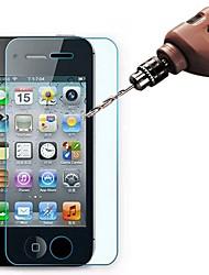 Недорогие -3шт HD закаленное стекло защитная пленка для экрана iPhone 4 / 4S / 5 / 5S / 5C / SE / 6 / 6S / 6 Plus / 6 S Plus / 7/7 Plus / 8/8 Plus / X / XS / XR / XS Plus