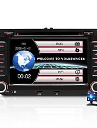 Недорогие -JUNSUN 2531-S 7-дюймовый 2-оконный Windows CE в приборной панели Автомобильный DVD-плеер / Автомобильный MP5-плеер / Автомобильный мультимедийный плеер GPS / MP3 / Встроенный Bluetooth для Volkswagen