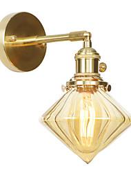 af06e0eaff4 Mini Style Απλός / Σύγχρονη Σύγχρονη Λαμπτήρες τοίχου Σαλόνι / Υπνοδωμάτιο  Χαλκός Wall Light 110-120 V / 220-240 V 60 W