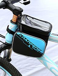 Недорогие -Сотовый телефон сумка Бардачок на раму 6 дюймовый Велоспорт для Другие же размера телефоны Рыжий Черный / Красный Синия / Черный