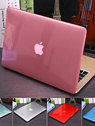 Недорогие -прозрачная прозрачная прозрачная крышка для MacBook Pro Air Retina 11/12/13/15 дюймов (a1278-a1989) пластиковый жесткий чехол