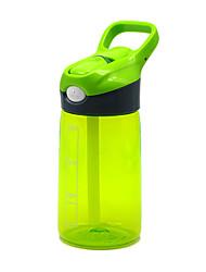 Недорогие -чайник Бутылка для воды 400 ml PP Прочный для Отдых и Туризм Путешествия Зеленый Оранжевый Синий Розовый
