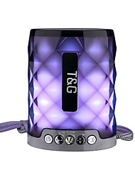 Недорогие -TG155 Беспроводная связь Bluetooth динамик семь цветов свет портативные карты спорта на открытом воздухе мини-звук