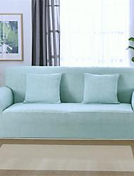 Недорогие -голубые прочные мягкие высокие эластичные чехлы для диванов моющиеся спандекс чехлы на диван