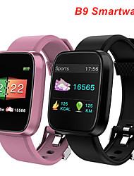 Недорогие -B9 Мужчины Умный браслет Android iOS Bluetooth Водонепроницаемый Сенсорный экран Пульсомер Измерение кровяного давления Спорт