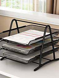 preiswerte -metall dokumententablett a4 papier büroraster datei dokument papier brief palette organizer