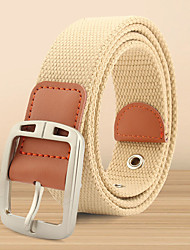 cheap -Unisex Work / Basic / Loose Curl Skinny Belt - Polka Dot / Color Block