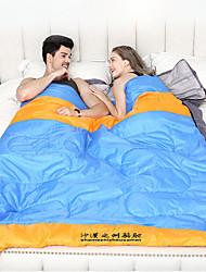 Недорогие -Shamocamel® Спальный мешок на открытом воздухе Двойная ширина 10 °C Двуспальный комплект (Ш 200 x Д 200 см) Пористый хлопок / Водонепроницаемость / Водонепроницаемость / Сохраняет тепло