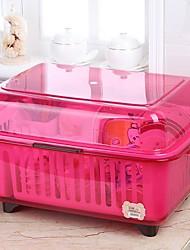 halpa -Korkealaatuinen kanssa Muovit Säilytyslaatikko For Keittoastiat Keittiö varastointi 1 pcs