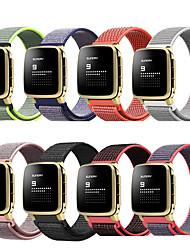Недорогие -Ремешок для часов для Pebble Time / Pebble Time Steel Pebble Спортивный ремешок Нейлон Повязка на запястье