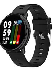 Недорогие -K1 Smart Watch BT Поддержка фитнес-трекер уведомления и пульсометр водонепроницаемый круглый экран для мобильных телефонов Android и Iphone