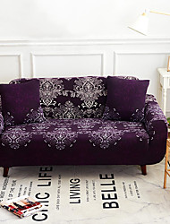 cheap -Sofa Cover High Stretch Court Printed Soft Elastic Polyester Slipcovers