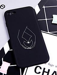 hesapli -iphone xs max xr xs x case arka için yumuşak kapak tpu desen karikatür sopa rakamlar yumuşak tpu iphone 8 için artı 7 artı 7 6 artı 6 5 se 5 s 5 8