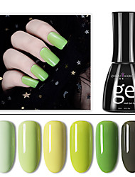 levne -Lak na nehty UV gel 1 pcs stylové Namočte off Dlouhotrvající Denní nošení / Festival stylové Módní design