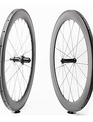 Недорогие -FARSPORTS 700CC Колесные пары Велоспорт 23 mm Шоссейный велосипед Поликарбонат / Углеродное волокно Однотрубка 20/24 Спицы 60 mm