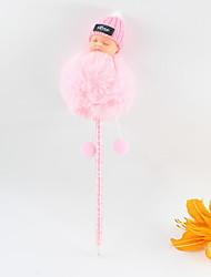 Χαμηλού Κόστους -πλαστικό στερεοσκοπικό μωρό μαλλιά μπάλα μπλε μολύβι μολύβι μπιλιάρδο σκάφη δώρα για τα παιδιά που μαθαίνουν γραφείο χαρτικά