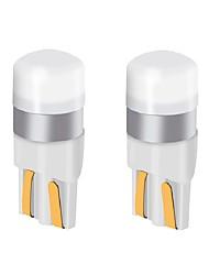 Недорогие -2 шт. T10 w5w автомобиль светодиодная лампа 9 В-24 В 200LM ультра яркий светодиодные лампы номерного знака огни / указатели поворота / задний свет / купольная лампа