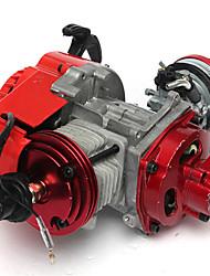 Недорогие -49cc высокоэффективный карманный велосипед Minimoto ATV с воздушным охлаждением, цилиндр с чпу, стартер, 2 хода