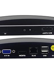 Недорогие -Factory OEM 4-канальный (ЭН) MPEG4 PAL 1080P (1920*1080) Карта NVR Card NVR
